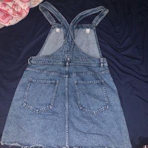 H&M Dresses - Denim skirt overall size US 8